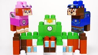 Paw Patrol Building Blocks Toy Playset for Kids