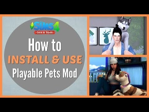 The Sims  Cats And Dogs Control Your Pet Mod
