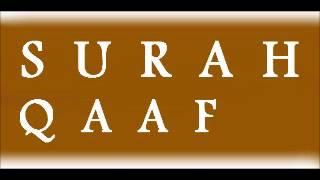 50. P1/1 Tafseer Surah Qaaf - ( Qaaf ) - Mufti Zar Wali khan saheb D.B.