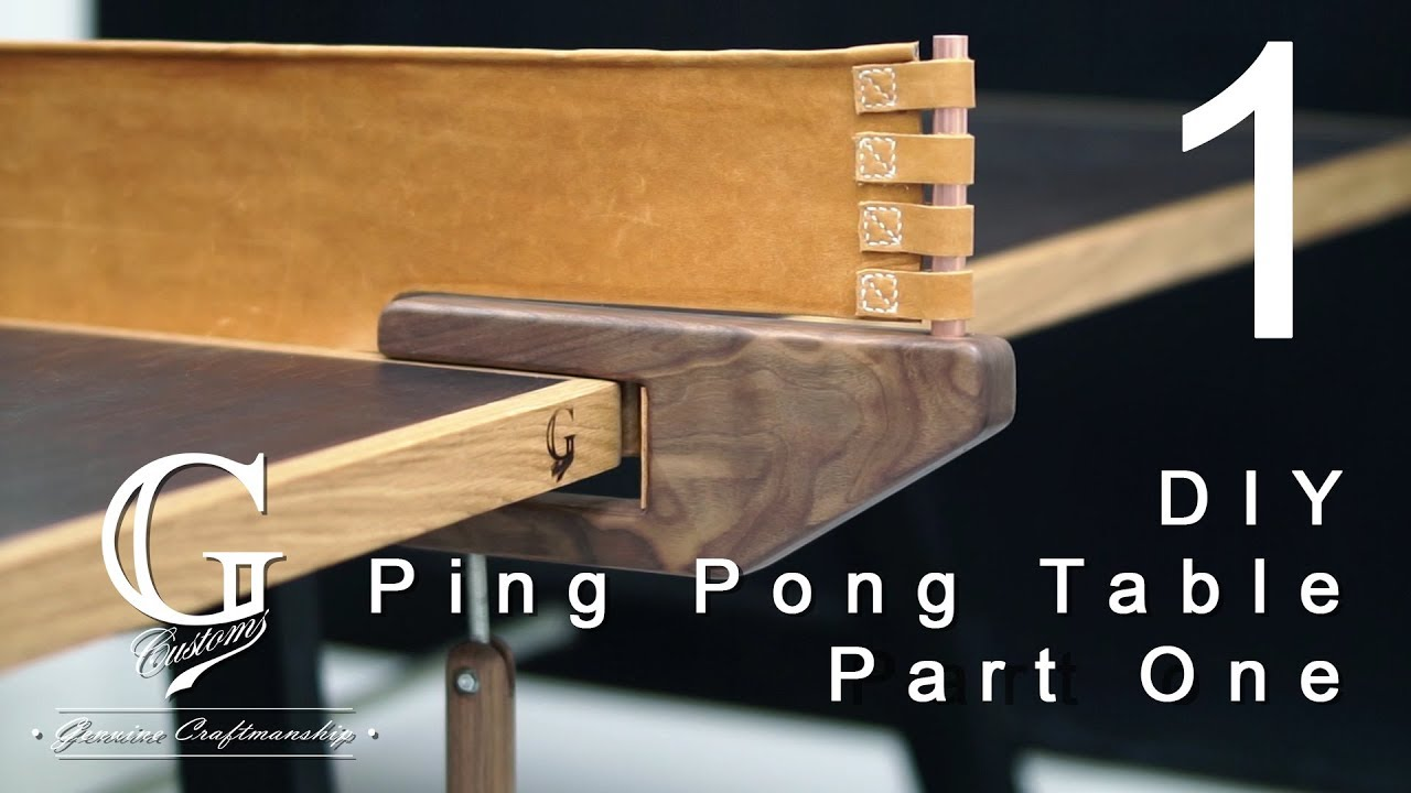 Making Ping Pong Table Part 1 Table Base Youtube
