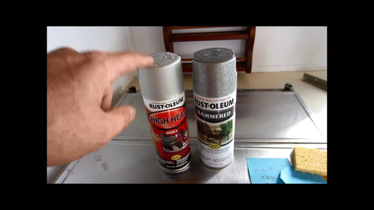 How To Paint Your Motor Home Stove Range Or Vent Hood