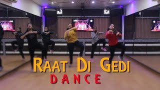 Raat Di Gedi | Bhangra Dance Performance By Girls | Diljit Dosanjh | Bhangra Choreography 2018