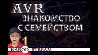 Программирование МК AVR. Урок 1. Знакомство с семейством AVR