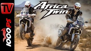 Review Honda Africa Twin 2016 | Pros - Cons, Action, Sound