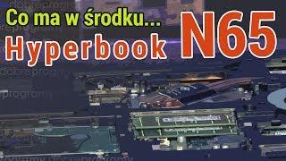 Hyperbook N65 od środka