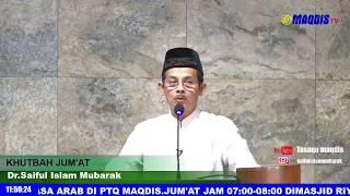 KHUTBAH JUM'AT - KEKUATAN UMAT ISLAM MENGHADAPI SEMUA TANTANGAN - MASJID ISTIQOMAH BANDUNG