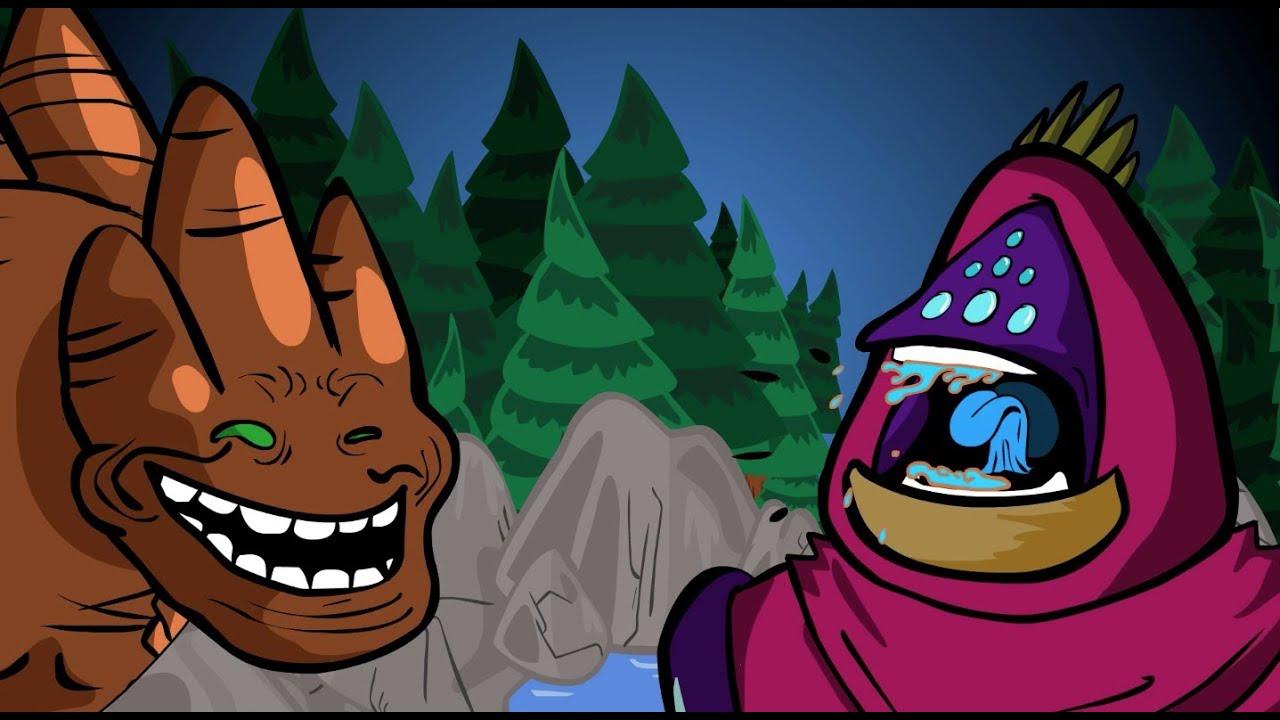 League Of Legends Cartoon Jax Vs Malphite Troll Face Edition