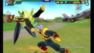 Tenkaichi 3: Super Baby 2 VS Red Potara Super Perfect Cell