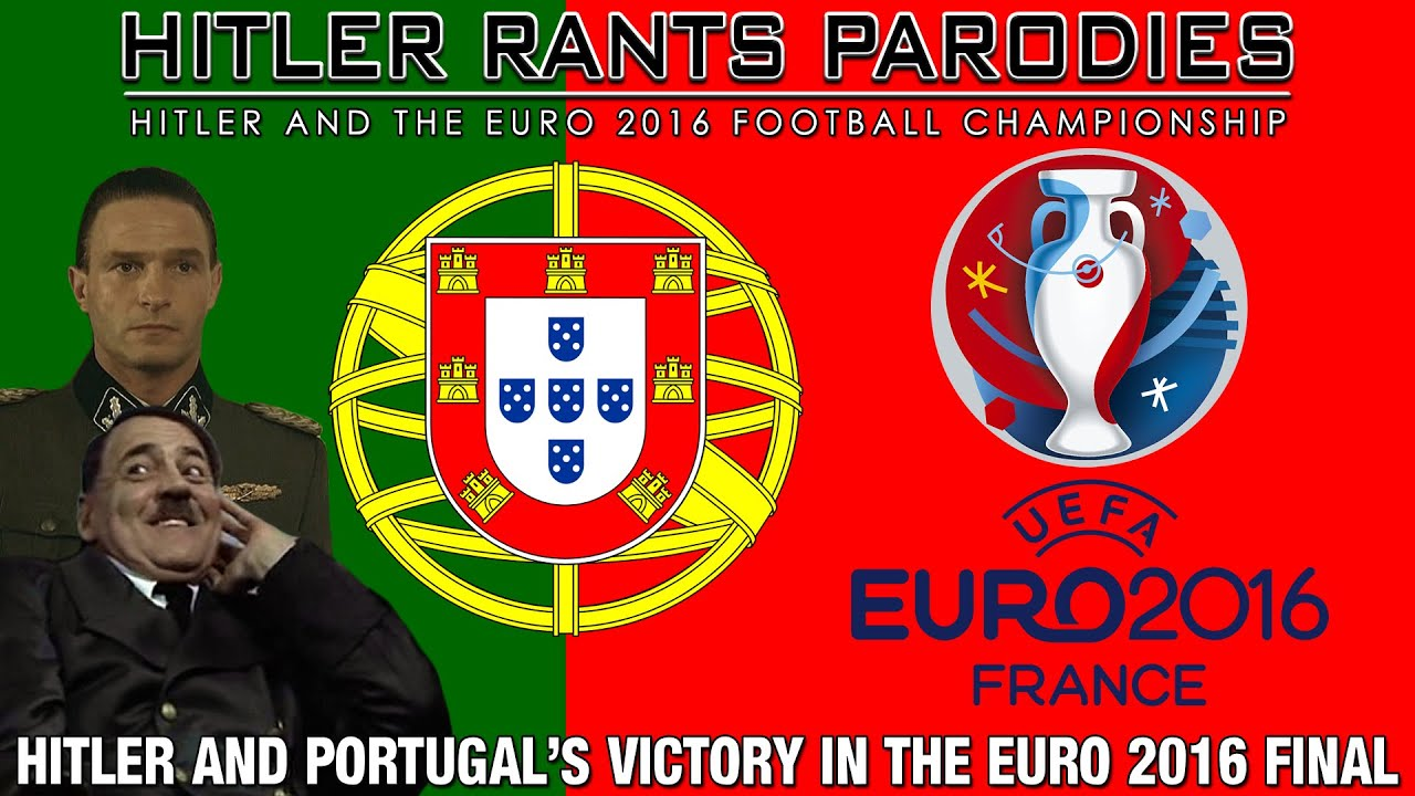 Hitler and Portugal's victory in the Euro 2016 Final