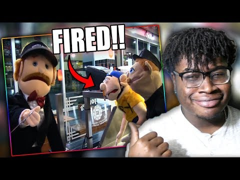 JEFFY GETS FIRED FROM HIS FIRST JOB! | SML Movie: Jeffy Gets a Job Reaction!