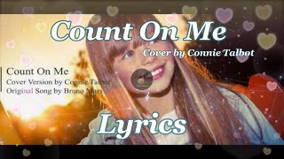 Count On Me - Cover Version by Connie Talbot (Lyrics)