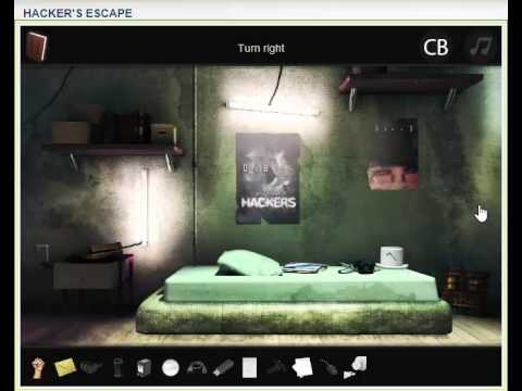 Walkthrough for Hacker's Escape