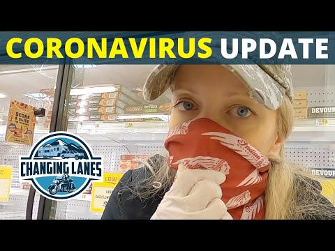Our Coronavirus (COVID-19) Update // Full Time RV // Changing Lanes!