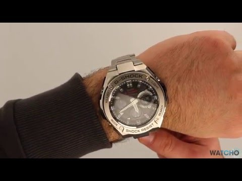 WatchO.co.uk - G-Shock Radio Controlled Solar Powered Watch GST-W110D-1AER | Unboxing & Close Look