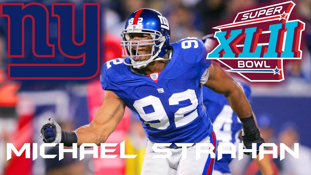 best deals on c9551 19c8c New York Giants: Michael Strahan Highlight Mix (Defensive End)