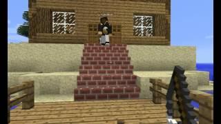 """Сериал MineCraft:""""Призрак"""" 1 серия: Страшная Записка"""
