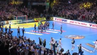 Porte au buzzer de la 1ère mi-temps - France 33 26 Norvège - Finale du mondial 2017