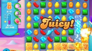 Candy Crush Soda Saga Level 697 - NO BOOSTERS