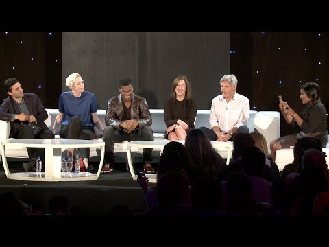 Star Wars: The Force Awakens: Press Conference - Harrison Ford, John Boyega, Gwendoline Christie
