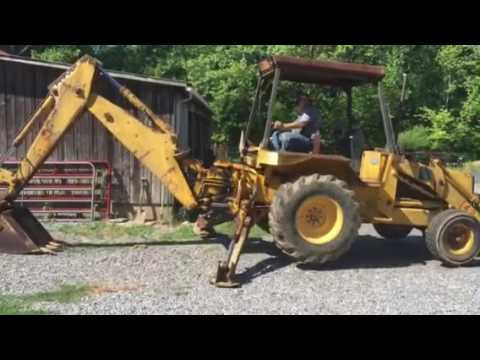 JCB 1400B backhoe loader