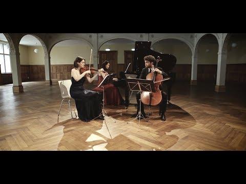 Trio Alba   Felix Mendelssohn Bartholdy: Piano Trio in C minor op. 66 - III: Scherzo. Molto ...