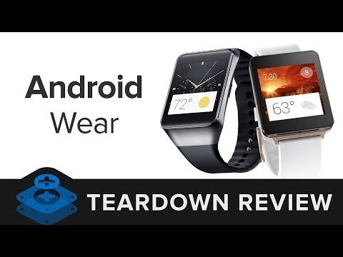 Y así son por dentro los smartwatches Android Wear: despiece G Watch y Gear Live