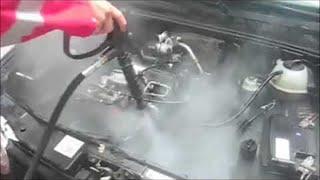 Comment Nettoyer à la Vapeur un moteur Automobile ?