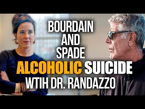 Kate Spade and Anthony Bourdain: Alcoholic Suicide with Dr Randazzo