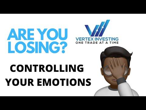 HANDLING LOSING TRADES! | VERTEX INVESTING