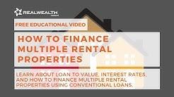 How to Finance Multiple Rental Properties