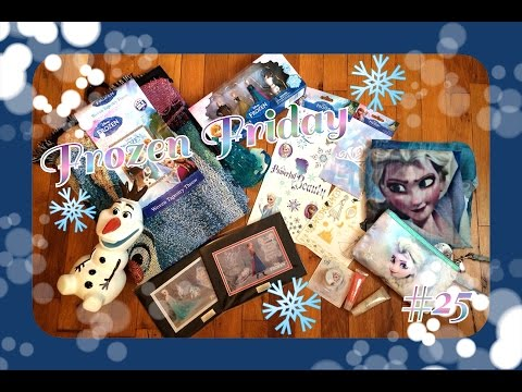 Frozen Friday: #25 Tapestry, Scarf, Limited Edition Art, Elsa Makeup and More