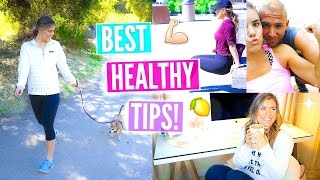 How To Be Healthy & Fit Year Round: Tips You NEED To Know!