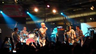 ME FIRST AND THE GIMME GIMMES - 'O Sole Mio - Carroponte 30/08/2012