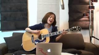 2014.4.13 森恵さんのUSTREAMライブより Megumi Mori is a rising Japan...