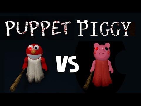 ПИГГИ СТАЛА МАРИОНЕТКОЙ ЭЛМО!! или Новый побег в игре Паппет роблокс | Puppet roblox | Новая игра
