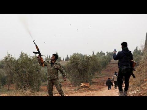 Ofensiva turca na Síria intensifica-se