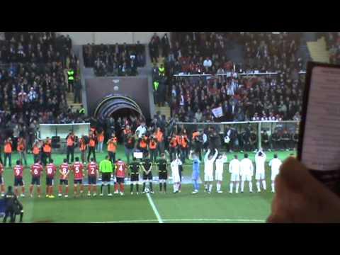 Armenia-Russia 0-0 26.03.2011 Teams Entering To Stadium