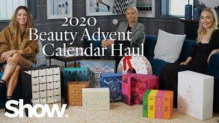 Beauty Advent Calendar Unboxing 2020   SheerLuxe Show
