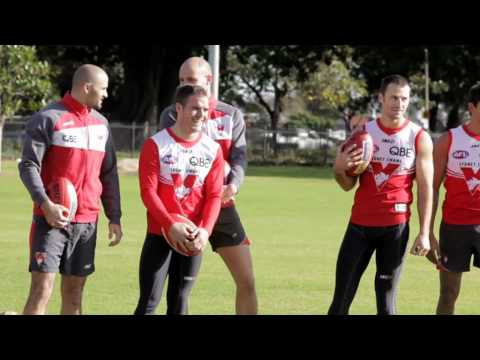 SwansTV: Coke Zero Left Field and the Sydney Swans team up