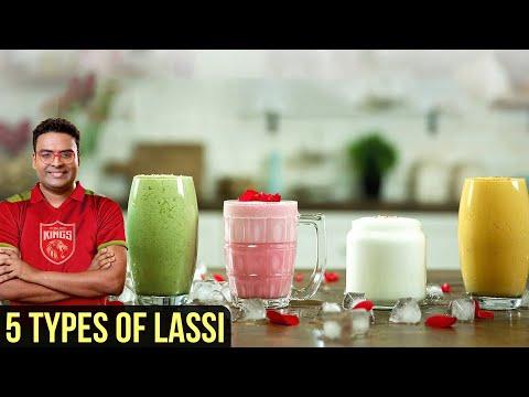 5 Types of Lassi   Punjabi Lassi Recipe   Sweet Yogurt Drink   Indian Culinary League   Varun