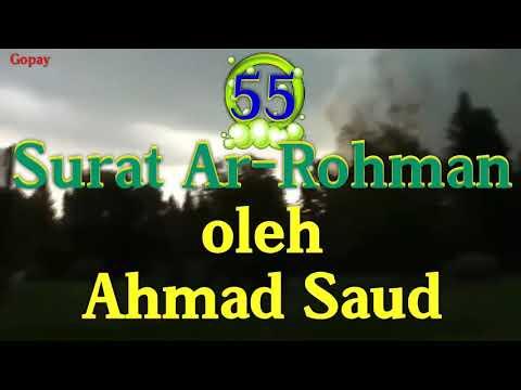 Download Lagu Surat Ar-rahman by Ahmad Saud