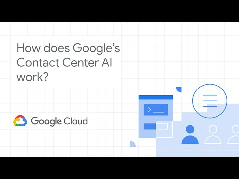 How Does Contact Center AI Work? (extended Version)
