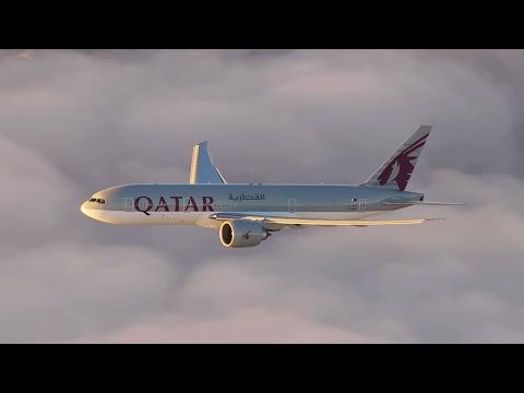 Qatar Airways Inaugural Flight to Auckland, New Zealand