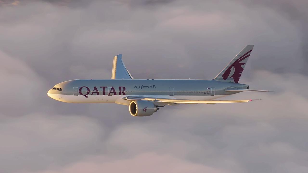 Resultado de imagem para Qatar Airways Inaugural Flight to Auckland, New Zealand