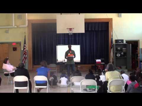 Addalesson Speaks at School Street Elementary School (Part 2)