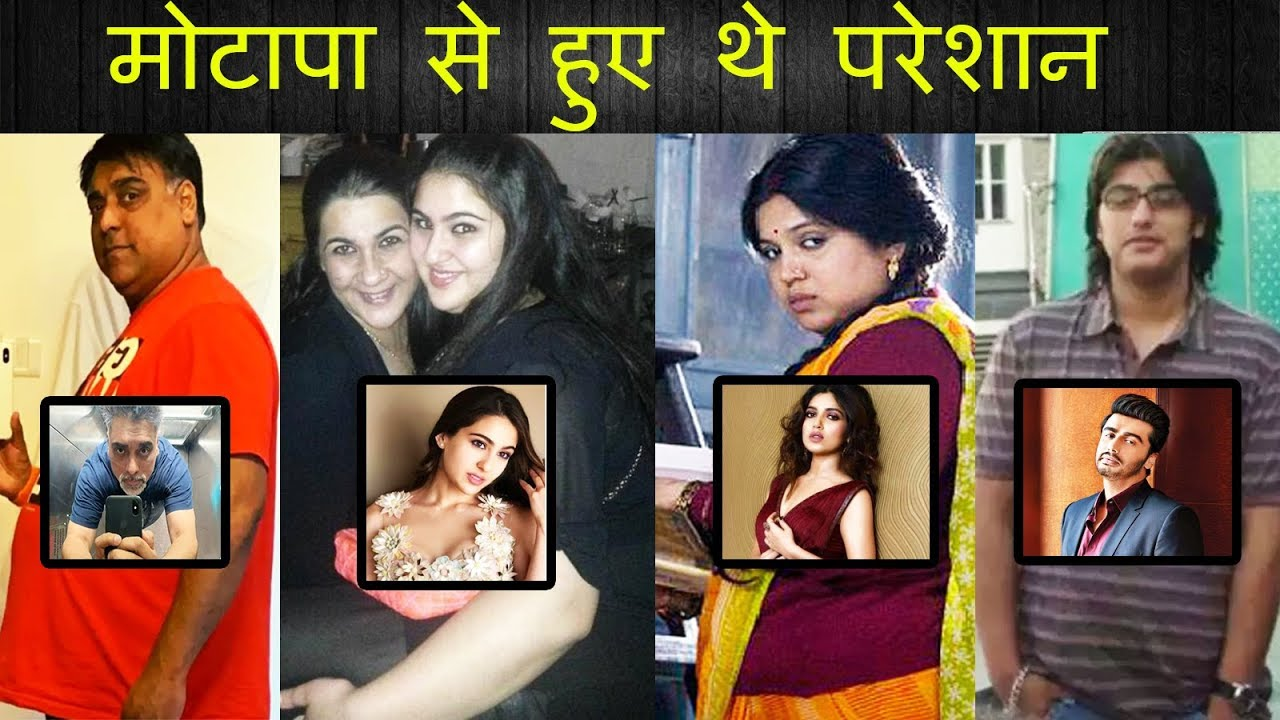 Download Top 7 Bollywood Actors Who Went From Fat To Fit