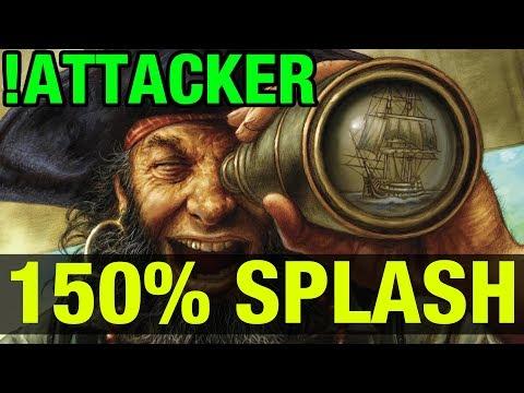 150% SPLASH DAMAGE ! - !ATTACKER - Dota 2