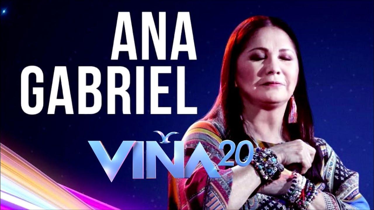 Festival De Viña 2020 En Vivo.Vina2020 Ana Gabriel Vuelve A Vina 2020