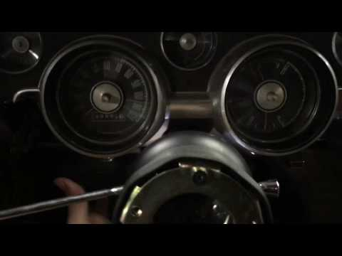 1967 Mustang Dash panel and cluster disassembly