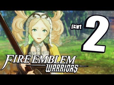 Fire Emblem Warriors - Walkthrough Part 2 Woodlands Encounter (English)